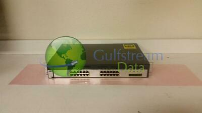 Cisco WS-C3750G-24TS-S Catalyst 3750G-24TS 24 Port Ethernet Switch Tested