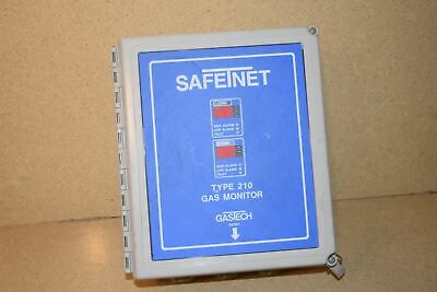 ^^ Safetnet Type 210 Dual Channel Gas Monitor