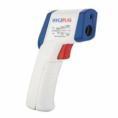 Hygiplas Mini Infrared Thermometer -20 to +320°C inc case - GL267 Catering