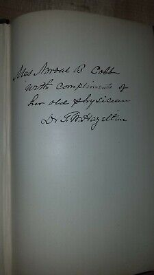 Signed copy Early History of the Town