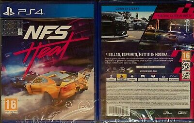 Nfs Need For Speed Heat Ps4 Versione Italiana Nuovo