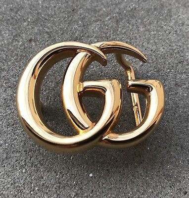 Baby Buckle For Belt Gold Fibbia Piccola Per Cintura Gucci Marmont Oro.