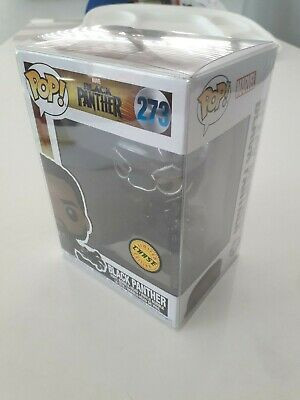 Funko Pop Marvel Black Panther Chase #273 New