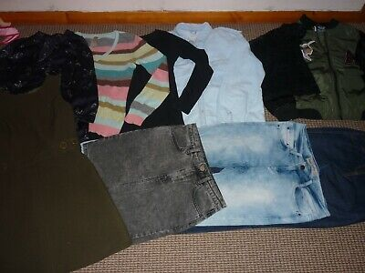 Bundle Girls Clothes age 15-16yrs Topshop Next Zara Jacket Jeans Tops Skirt MORE