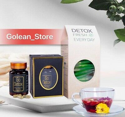 X1 Combo Go Detox and Detox Fresh Everyday; Natural Herbal Tea Weight Loss