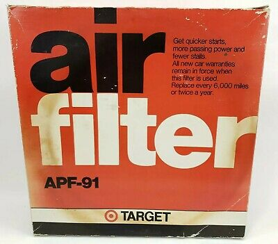Target Air Filter APF-91 1990s New Old Stock