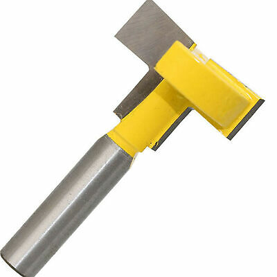 "1/4"" Shank T-Slot Cutter Router Bit For 2"" Hex Bolt Woodworking Chisel Tool New"