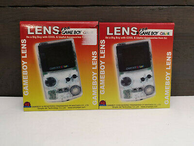 Gameboy Color GBC Replacement Screen Lens Lot of 2