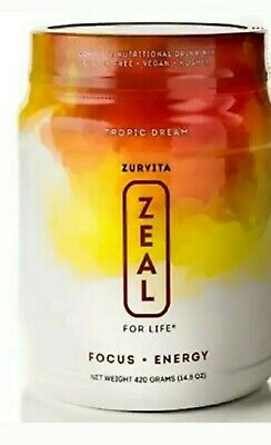 Zurvita Zeal for Life 30 Day Wellness Canister, Tropic Dream  ( Free Shipping)