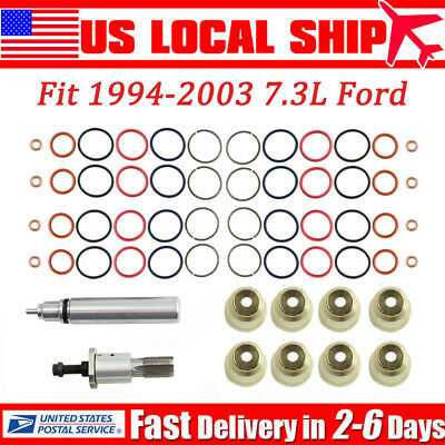 Fit 1994-2003 7.3L Ford Powerstroke Injector Sleeve Cup/Removal Tool/Install Kit