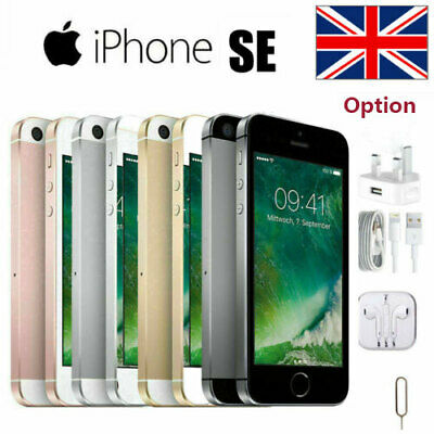 Apple iPhone SE 16GB 32GB 64GB Unlocked Smartphone All Colors Factory Unlocked