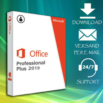 MS Office 2010/2013/2016/2019 Professional Plus - Key Per Mail - 24/7 Support