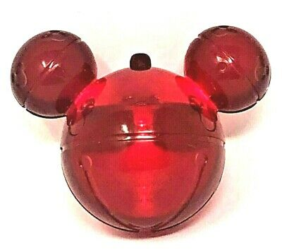 New! Disney Parks Disneyland Red Glow Cube Light Up Christmas Mickey