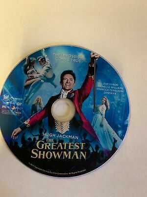 The Greatest Showman [2018][DVD Disc Only]