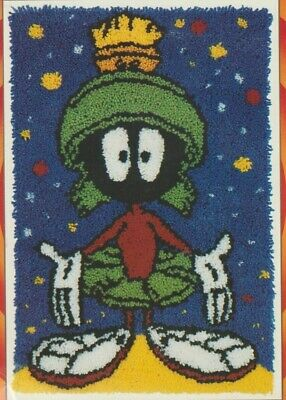 Looney Tunes Warner Bros Marvin The Martian Latch Hook Rug Kit 50.8 Cm X 76.9 Cm