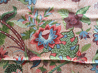 Liberty Of London Birds & Floral Colourful Vtg Silk Scarf