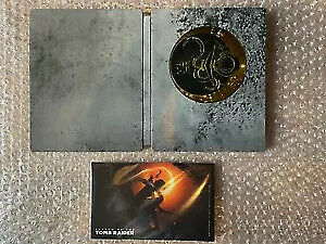 Shadow Of The Tomb Raider (NO GAME) Steelbook & Artcards Xbox One/PS4/PC NEW
