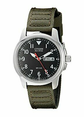 New CITIZEN Canvas Strap Watches Eco-Drive Solar Cell BM8180-03E Mens