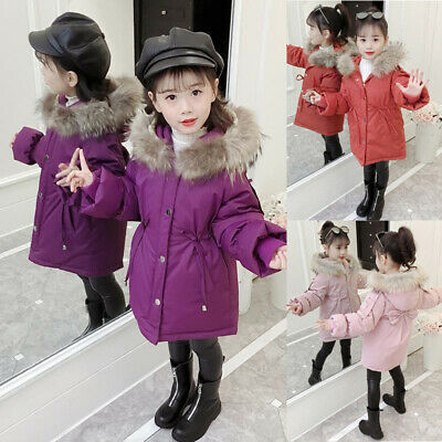 Kids Girls coat Jacket Solid Outwear Lovely Girls coat Girls Jacket Loose