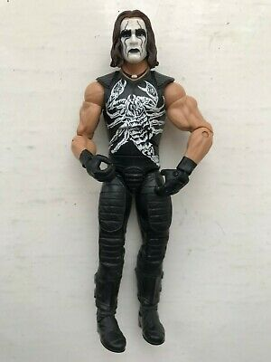 Wwe Wcw Classic Crow Sting Mattel Elite Defining Moments Series Wrestling Figure