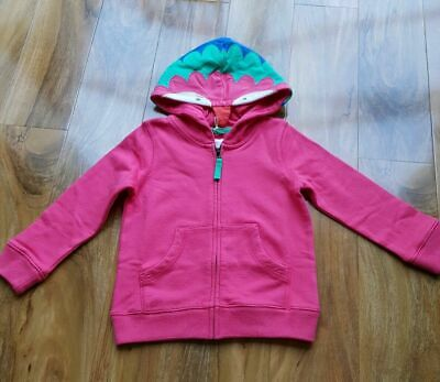 Mini Boden Girls ANIMAL ZIP-UP HOODIE G0488 BRAND NEW