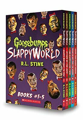 NEW - Goosebumps SlappyWorld Box Set: Books 1-5