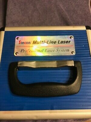 Sincom Multi Line Laser Used Condition with Case and Instructions
