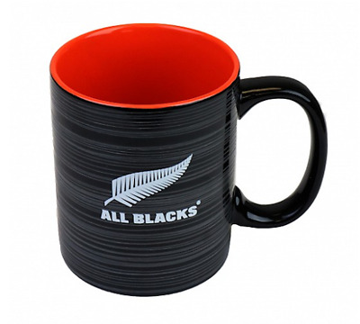 New Zealand All Blacks Rugby Union Supporters Logo Mug Coffee Cup