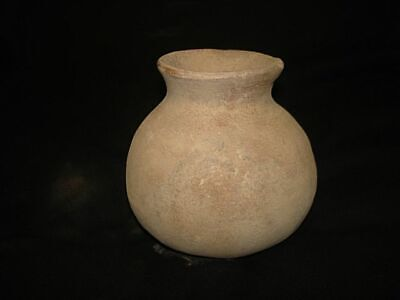 ANCIENT EARLY BRONZE AGE JUG!  Found @ Tell JERICHO ISRAEL ! 3000BC~~~no reserve