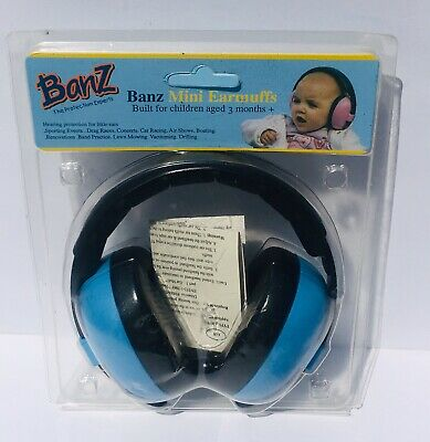 Banz Baby Mini Earmuffs EM010 - Blue (Hearing Protection) Headphones #2416