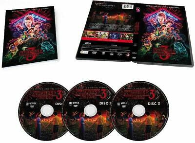 Stranger Things Season 3 2019 3-disc Set DVD ( US Original Version)