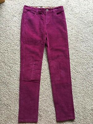 Girls Gorgeous Joules Cords Corduroy Trousers Age 11-12 'Jnr Alice' Little Joule