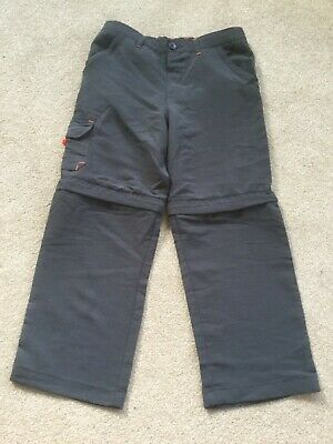 REGATTA children's lightweight trousers w detachable legs, size 5-6, never worn