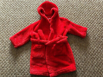 John Lewis Dressing Gown, Age 12 - 18 Months