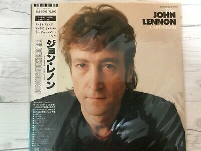 The John Lennon Collection EAS-91055 EMI ODEON Used Very Good Japan LP 1980