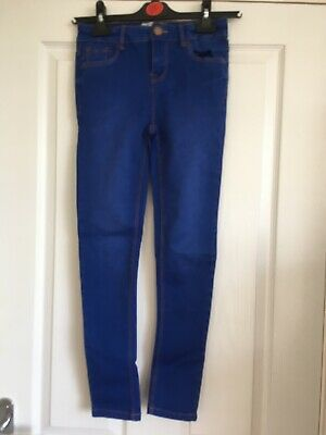 new look petite blue skinny denim jeans size 8