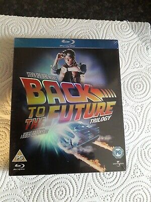 Back to the Future Trilogy (Blu-ray) Michael J. Fox (New and Sealed)