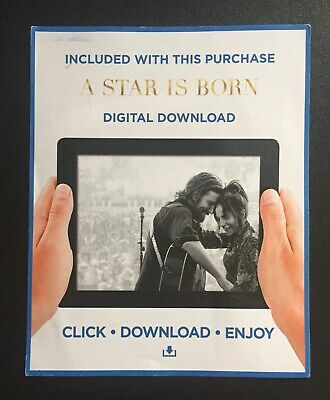 A Star Is Born (2018) HD - UV Google Play Code