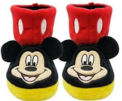 Disney Toddler Boys Girls Mickey Mouse Slippers Boots House all Size