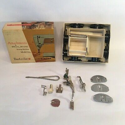 TOUCH & SEW by SINGER Sewing Machine Attachments Model 603 Part No 161819