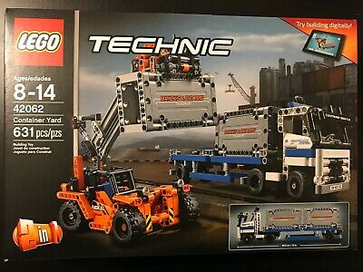 LEGO TECHNIC 42062 Container Yard NISB New & Sealed