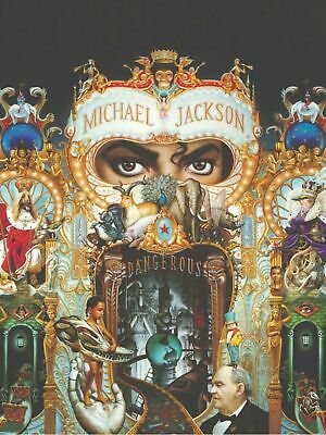 MICHAEL JACKSON Dangerous IN CONCERT 18X24   POSTER FREE SHIPPING