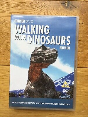 Walking With Dinosaurs (DVD, 2000), discs in v good condition, booklet crumpled