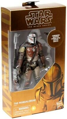 "Star Wars The Black Series 6"" Carbonized Graphite Mandalorian Target Exclusive"