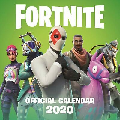Fortnite 2020 Official Square Wall Calendar - New & Sealed