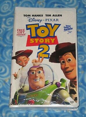 Brand New Sealed Toy Story 2 Disney Pixar VHS Video Tape with Clamshell Case
