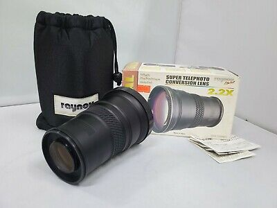 Raynox - DCR-2020PRO 2.2X Telephoto Conversion Lens 62mm Thread mount