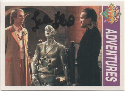 """Dr Who Cornerstone Trading Card No.271 Auto by Isla Blair """"Isabella"""""""