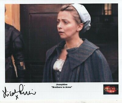 "The Musketeers Auto Photo Print Lisa McGrillis ""Josephine"""