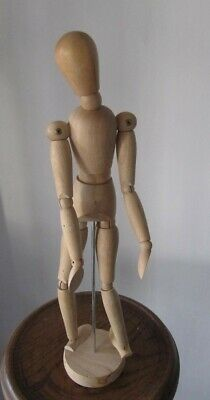 Wooden Artist Movable Limbs Male Sketch Figure Model Mannequin by WINDSOR NEWTON